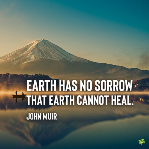 John Muir quote to give you food for thought.