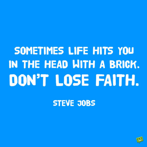 Keep your head up quote to note and share.