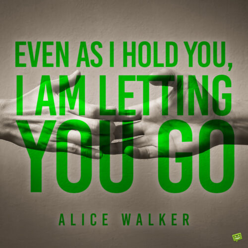 Letting go quote to note and share.