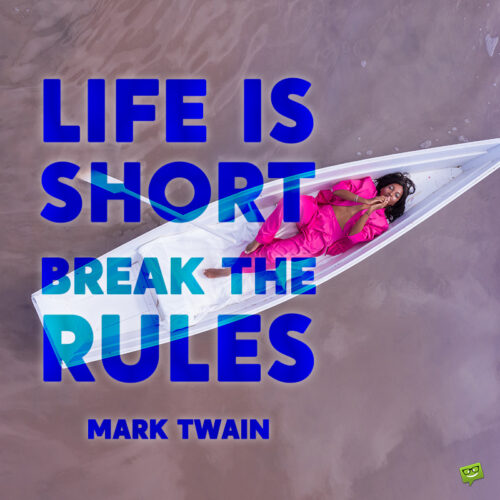 Life is short quote to note and share.