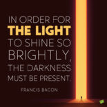 Light quote to note and share.