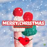 Cute Christmas message for your love.