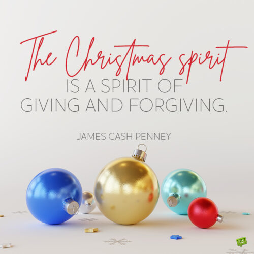 Merry Christmas Quote.
