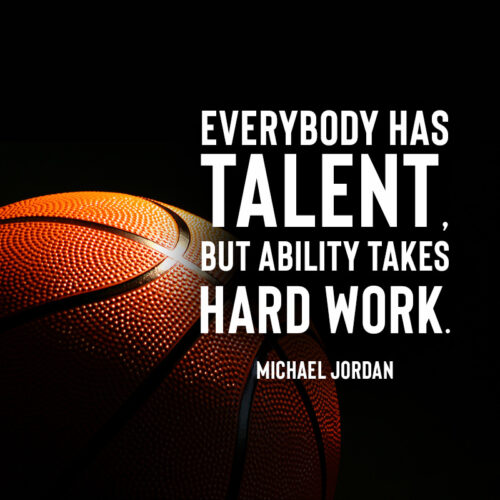 Michael Jordan quote to inspire and motivate.