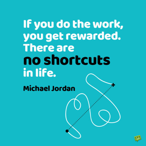 Work quote by Michael Jordan.