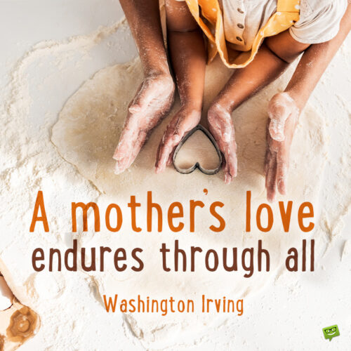 Mother's day quote to note and share.