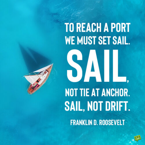 Ocean quote to note and share or use as caption to your ocean photo posts.