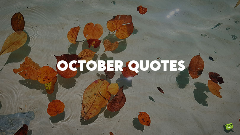 44 October Quotes About Autumn's True Colors