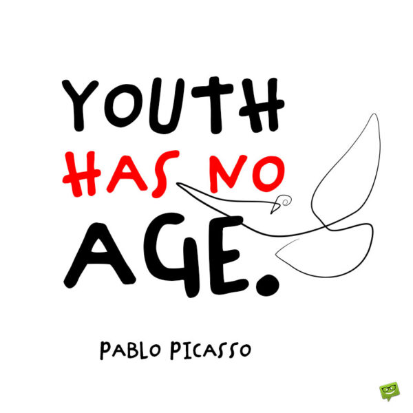 Youth quote to note and share.