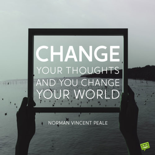 Quote about change for inpiration.