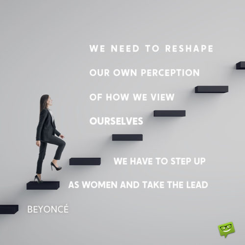 Leadership quotes for women.