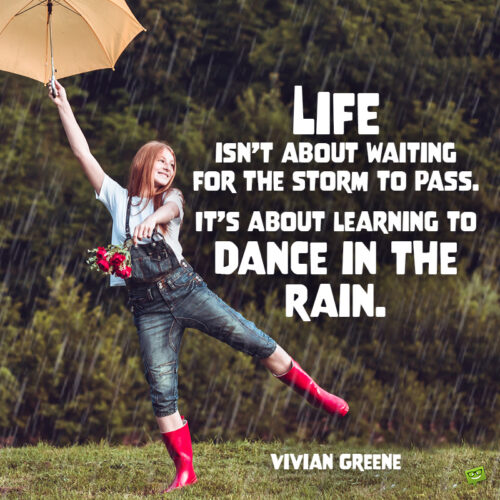 Rain quote to make you think.