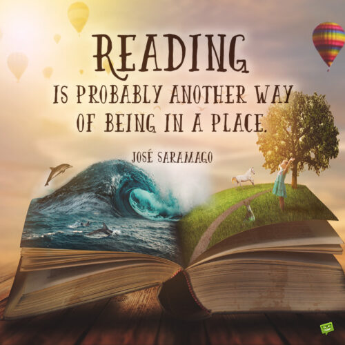 Reading quote to inspire you.