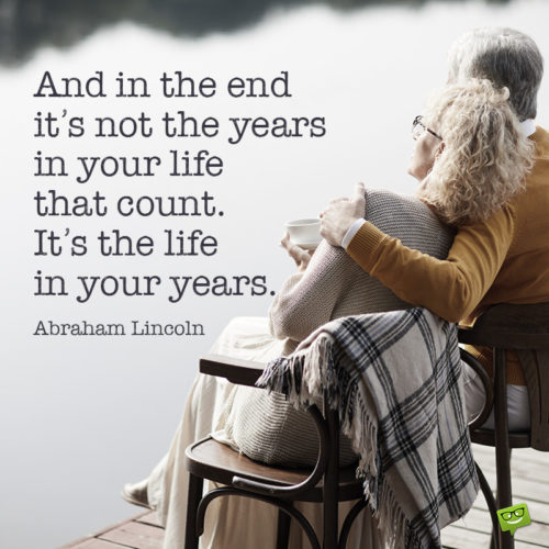 Retirement quote for inspiration.