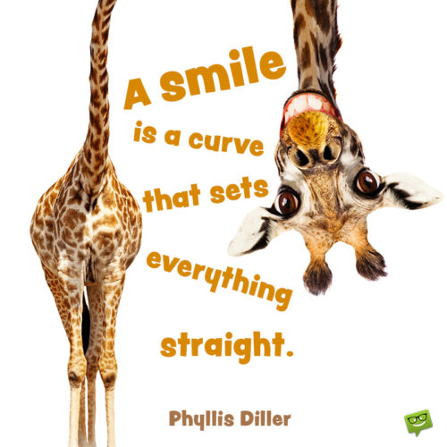 Smile quote to inspire you.