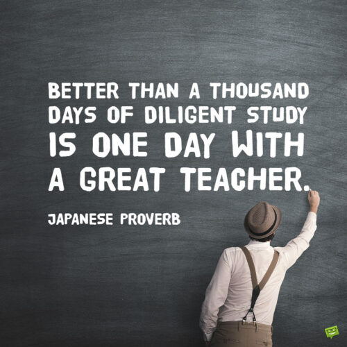 Teacher quote to note and share.