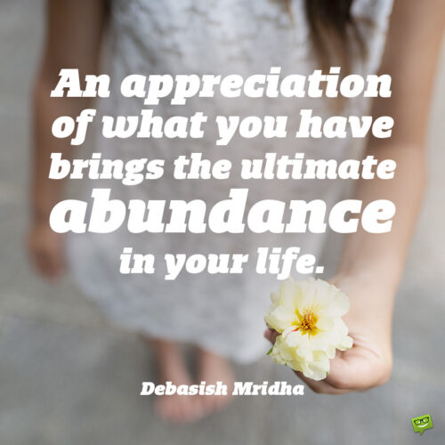 Aprreciation thank you quote to note and share.