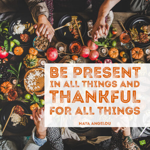 Thankful quote to inspire you.
