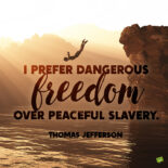 Thomas Jefferson quote to note and share.