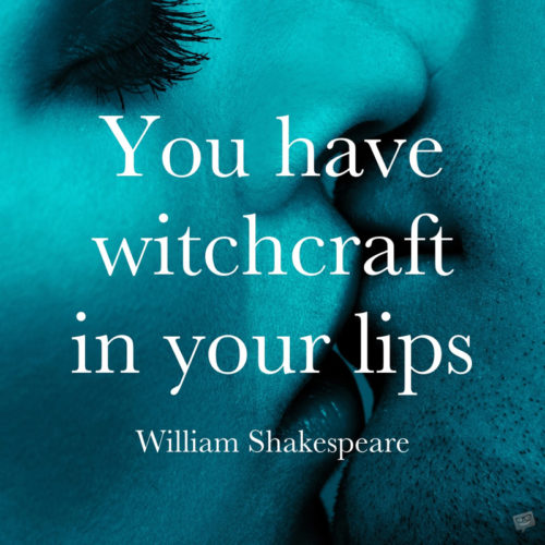 Shakespeare love quote.