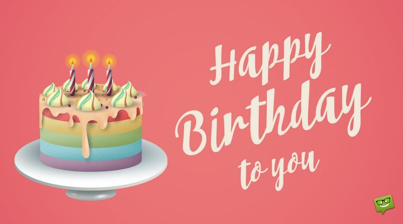 Images Of Happy Birthday Wishes With Cake