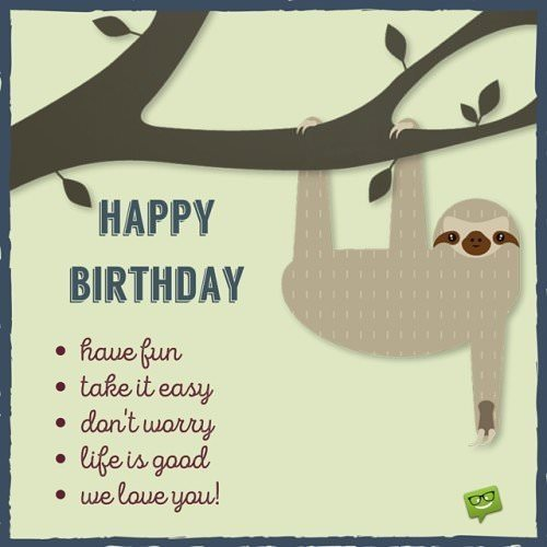 Funny Birthday Wishes For Your Family And Friends