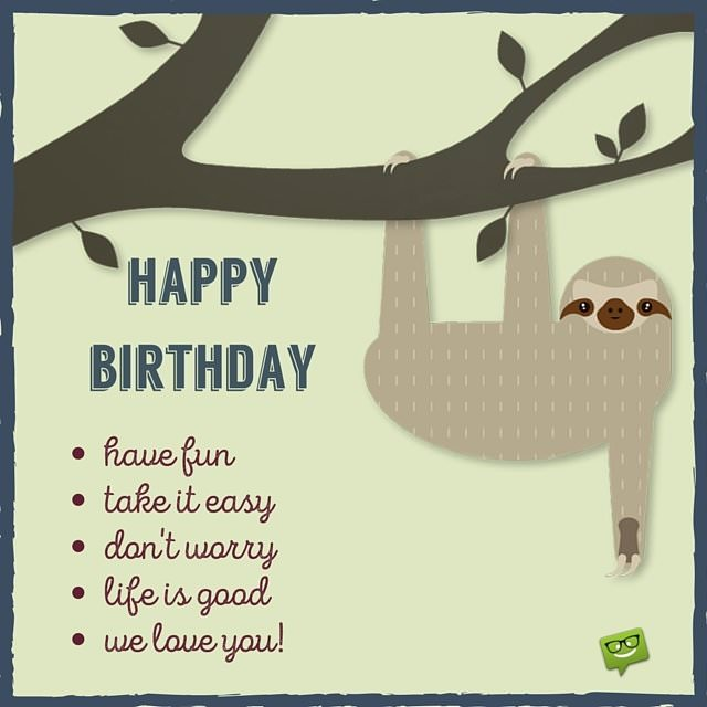 Funny Birthday Wishes For Your Family Friends