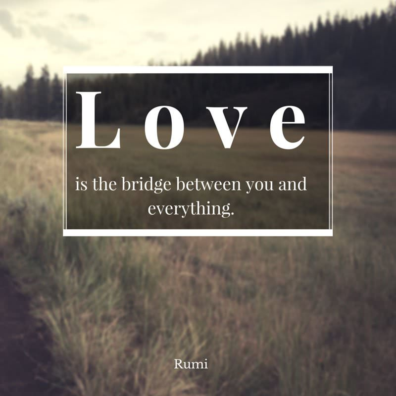 Love Is Quote: The Best 20 Rumi Quotes