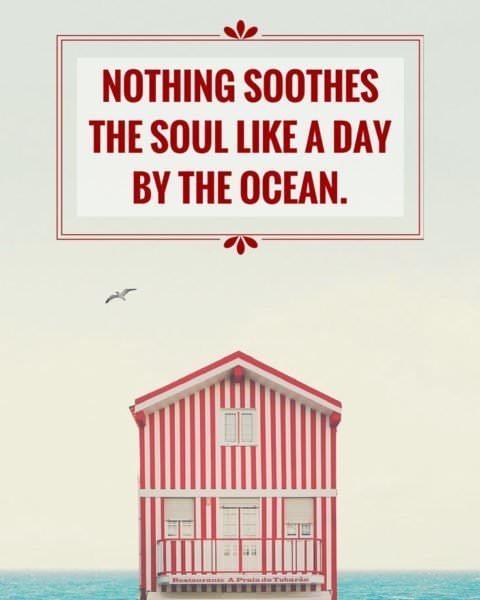 Nothing soothes the soul like a day by the ocean!