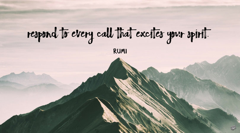 Inspirational Words of a Poet | The Best 20 Rumi Quotes