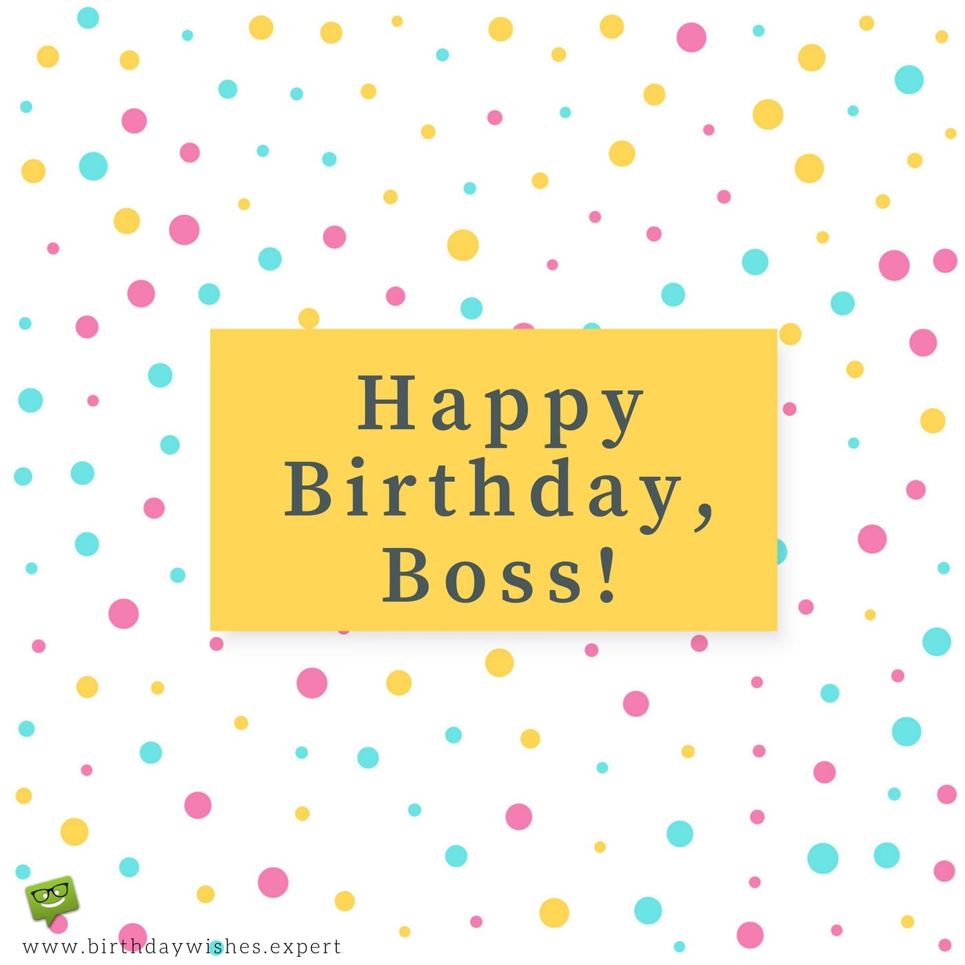 Professionally yours happy birthday wishes for my boss happy birthday boss m4hsunfo