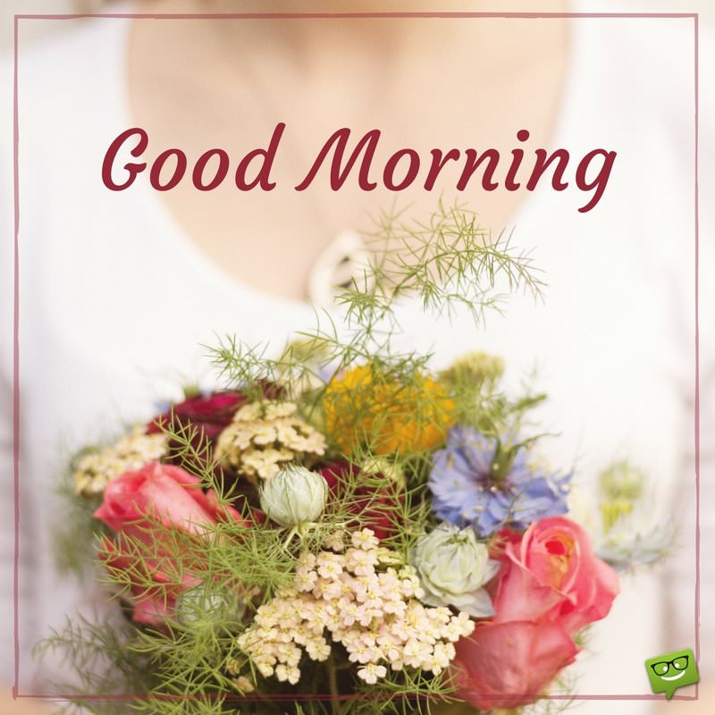 Top Good Morning Images with Flowers Bouquet