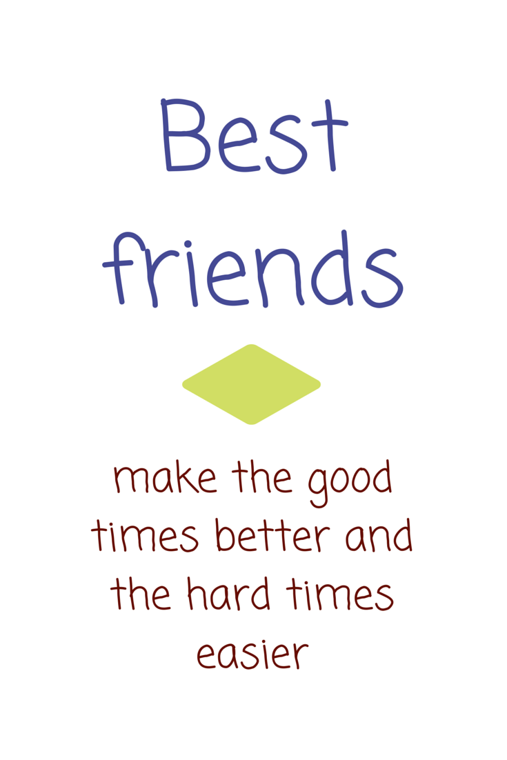 Quotes About Good Friends In Hard Times : The most beautiful friendship quotes