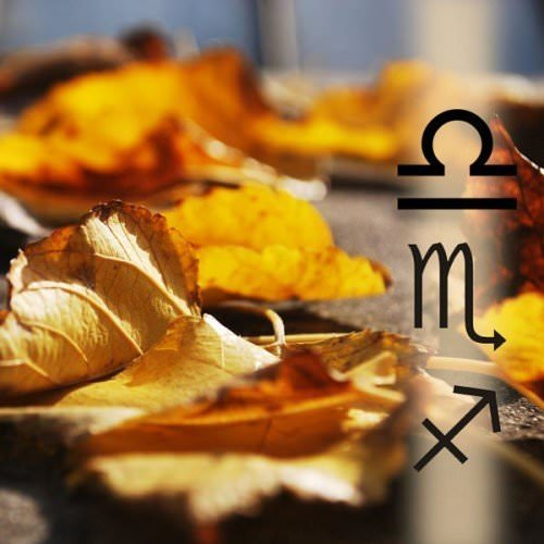 Birthday wishes for the Zodiac Signs of Autumn.