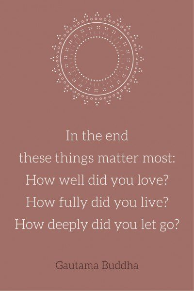 How well did you love-