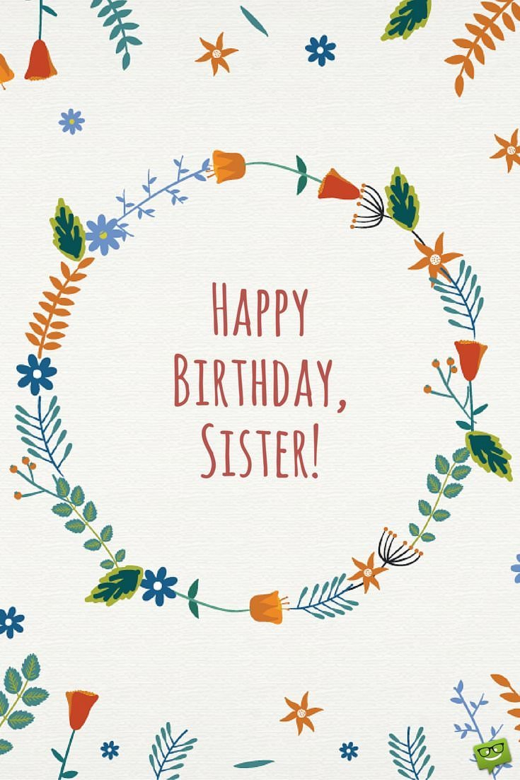sisters are forever  happy birthday sister  part 3