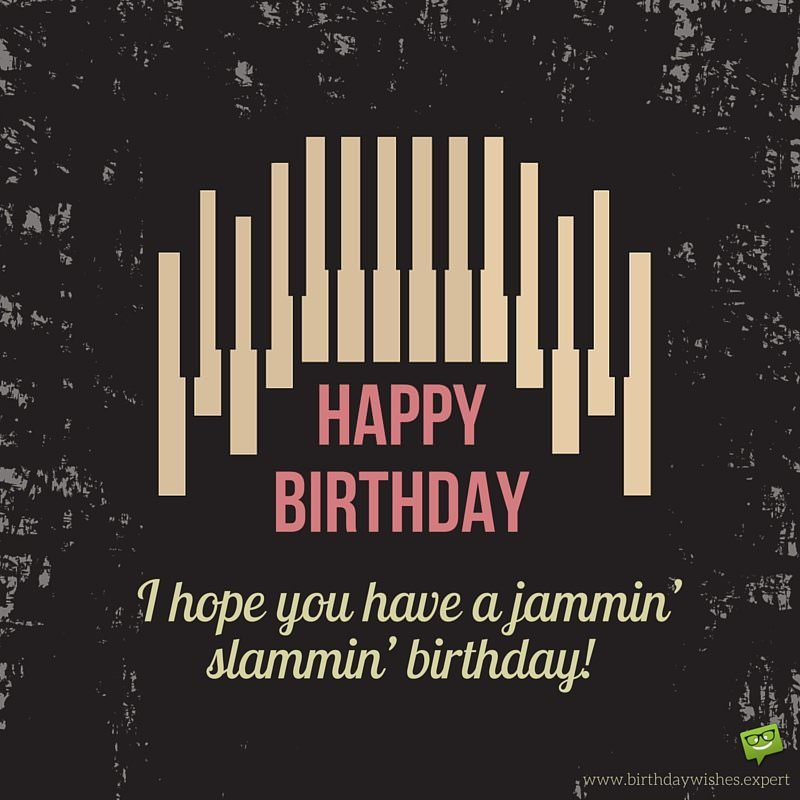 I Hope You Have A Jammin Slammin Birthday