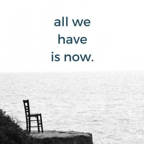 all we haveis now.
