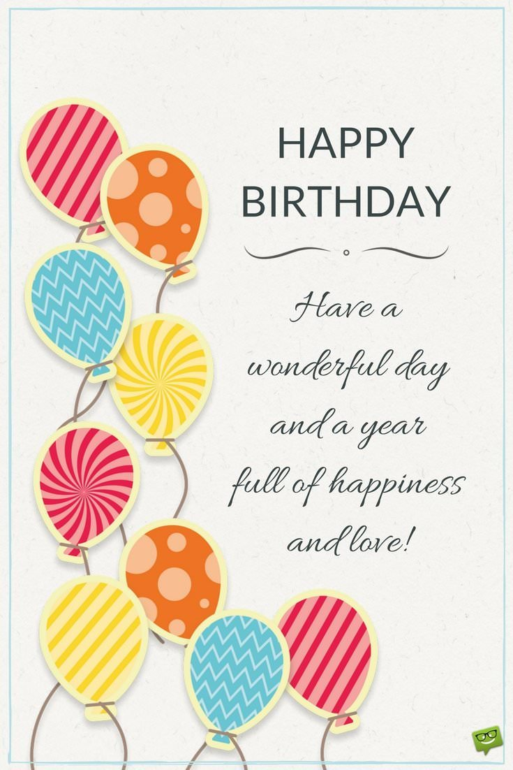my favorite day in the year birthday Birthday wishes for co-workers and bosses: what to write in a card updated on september 9 happy birthday to my favorite boss when you were a year younger you're my favorite co-worker whose birthday is today.