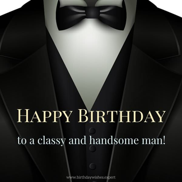 200 great happy birthday images for free download sharing happy birthday to a classy and handsome man altavistaventures Images