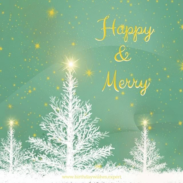 Christmas Wishes on Image to be used on Facebook