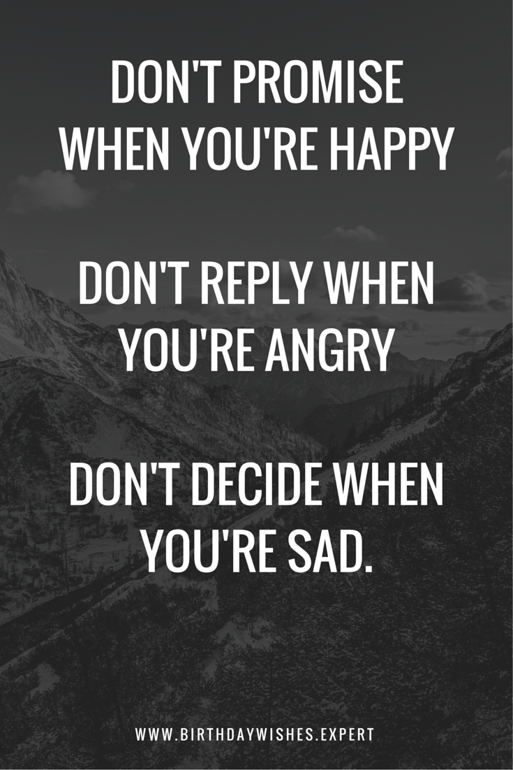 quotes to make you happy when you re sad