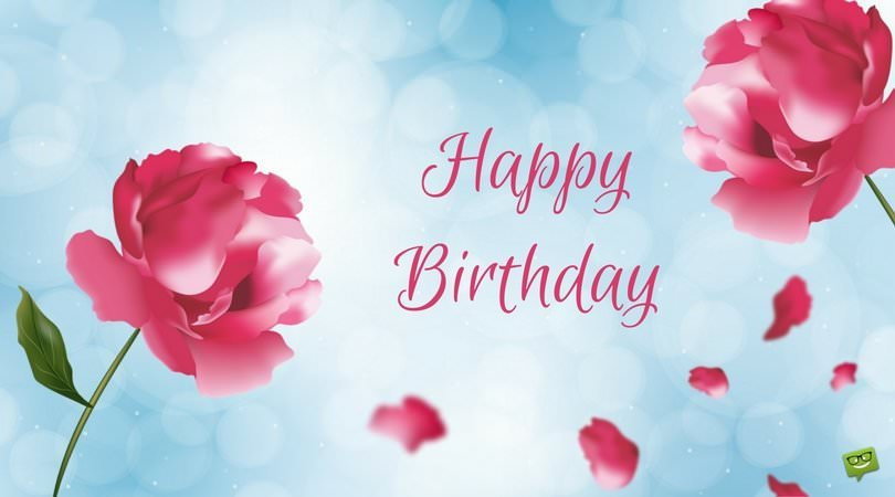 Floral Birthday Wishes Cards | Greetings with Beautiful Flowers