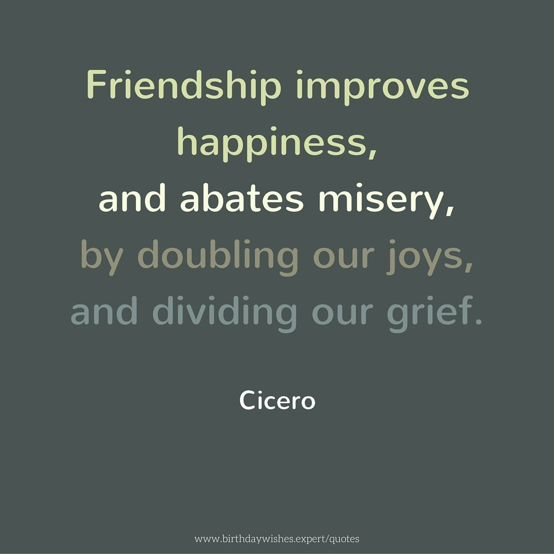 Great Quotes About Friendship Quotes About Friendship To Help You Discover Another Self
