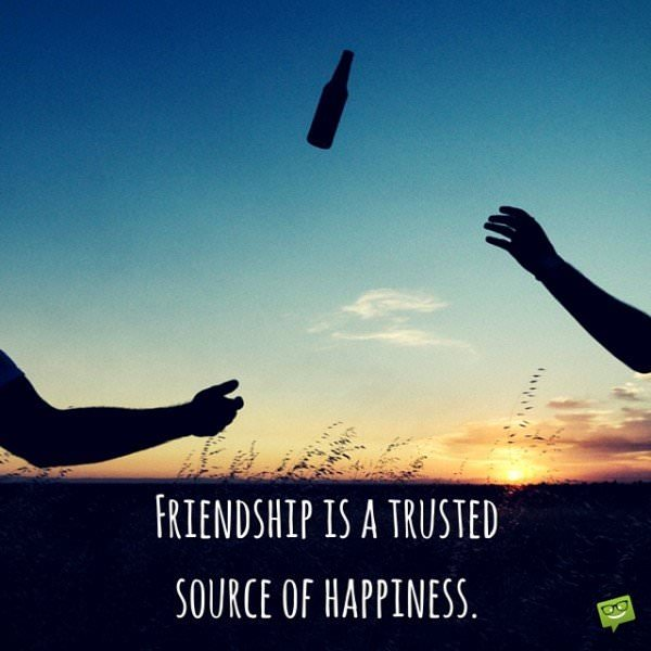 Happy Quote about friendship