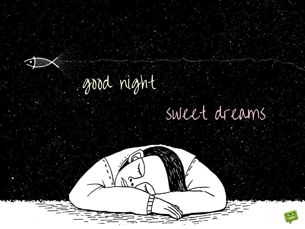 Good night, sweet dreams.
