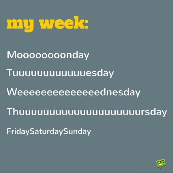 Weekends fly by so quickly!