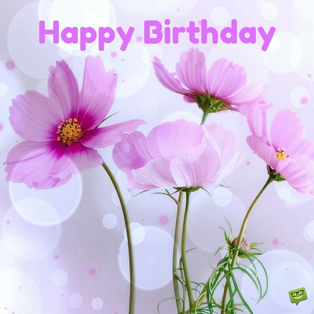 Birthday Flowers Images With Quotes: 25 Original Happy Birthday Pictures To Make Someone's
