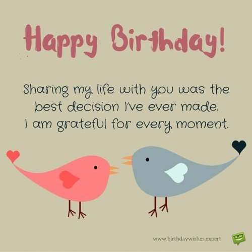Send these Funny Birthday Wishes to your Husband – Best Wishes in Life