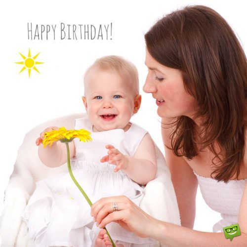 Birthday Wishes For Babies A Childs First Years In Life